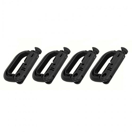 Multi D-ring sett 4 stk for Molle
