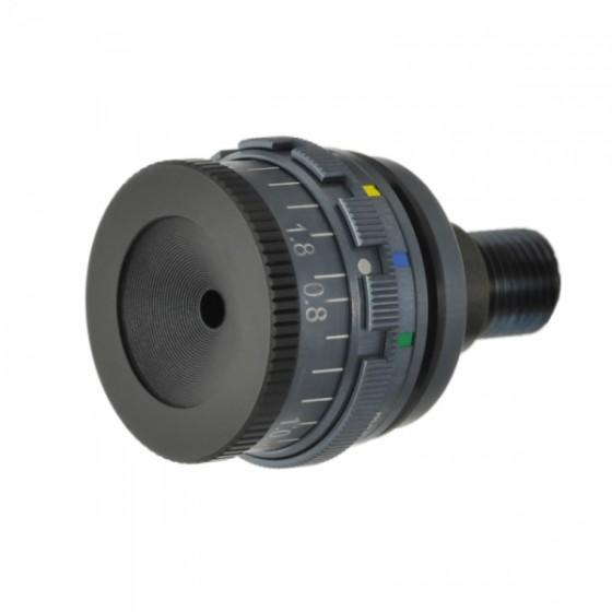 Irisblender UV400 m/5 fargefilter for Match og ny Busk