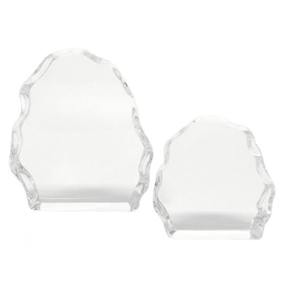 """""""Isblokker"""" i glass i 4 størrelser"""