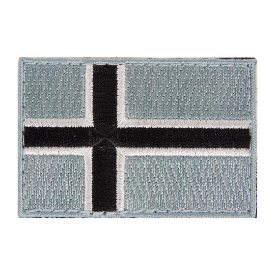 Norsk Flagg tonet tøymerke