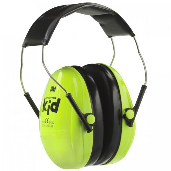 Hørselvern Kid Signalgrønn