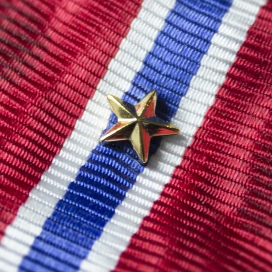 Gullstjerne for bånd