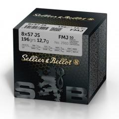 S&B 8x57 IS 196grs FMJ (50 pk.)