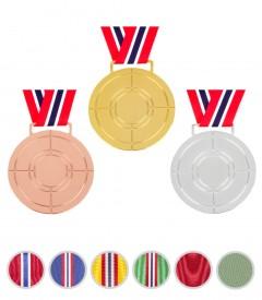 Medalje hals med valgfritt bånd