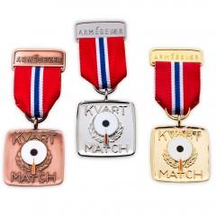 Kvartmatch Medalje