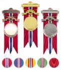 Medalje Kryssende Våpen med valgfritt bånd