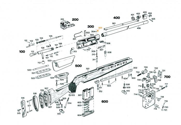 Miragebåndskrue S305