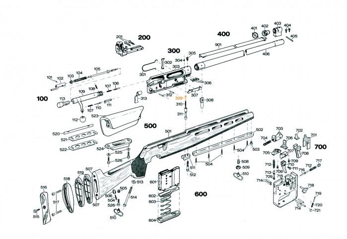 Styrebolt S309