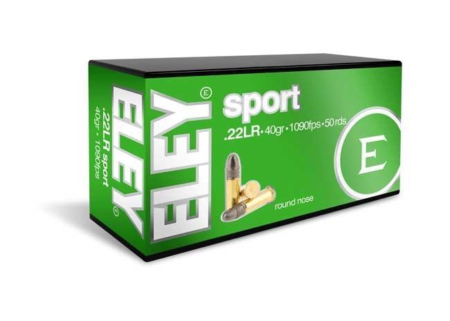 Patron Eley Sport .22 (500 stk)