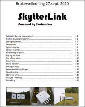 Brukerveil Skytterlink